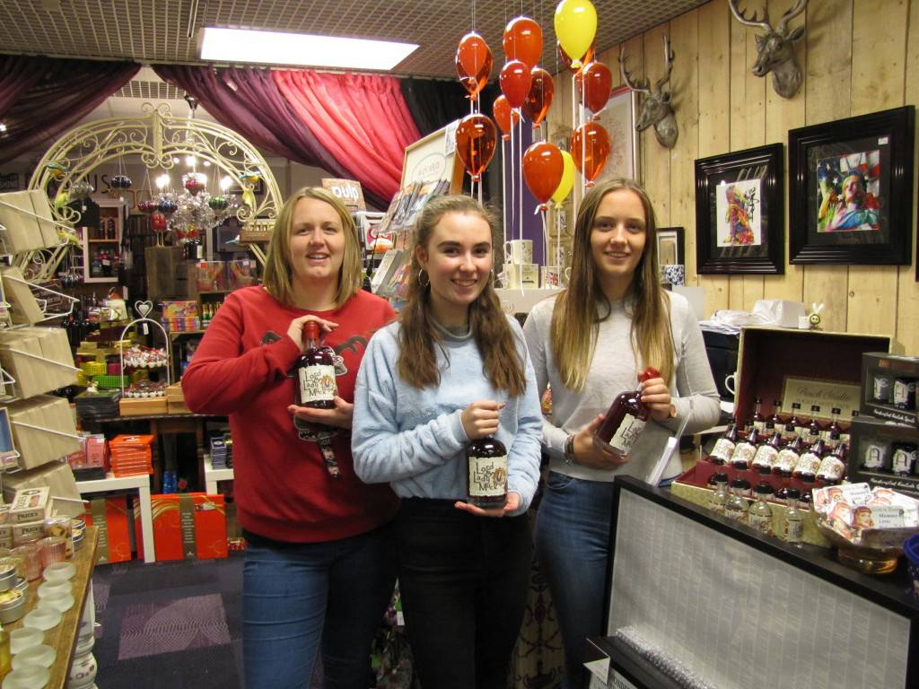 After a busy Christmas, owner of the Gorgeous George jewellery and wine shop in the Pavilion, Teresa Seamer expects 2017 to 'be an important year' as they look to expand their operations and 'bring as much excitement to Tonbridge as we can'.(PIC: L-R) Ami Gunning, Hannah Jones and Madeleine Joyce in Gorgeous George
