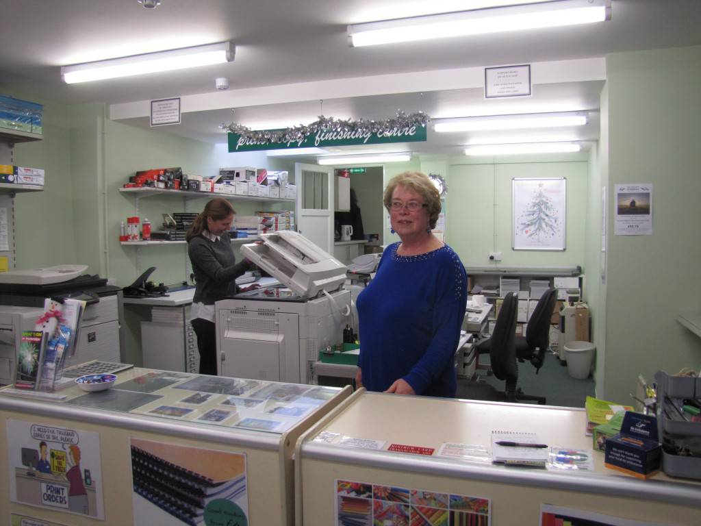 """Susan Adam, a stalwart of the High Street said: """"Tonbridge is a town on the up with new businesses coming into the area so we are looking forward to the New Year. We also sell artists' materials and with the new ArtSpring Gallery opening a few doors away we hope to see an even more creative Tonbridge in 2017."""""""