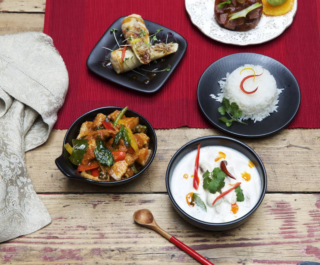 Cooking up flavours of the East - A selection of delicious dishes to savour at the Giggling Squid