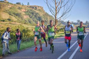 ALL TOGETHER The Comrades Marathon is a South African tradition