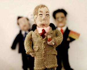 FIGURE OF FUN Pat Wilson's kitted Nigel Farage