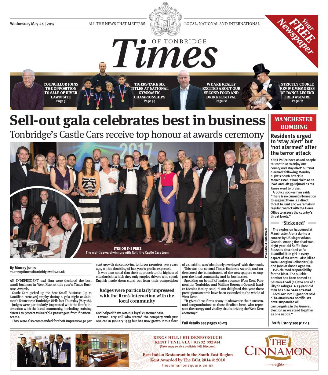 Read the Times of Tonbridge 24th May 2017