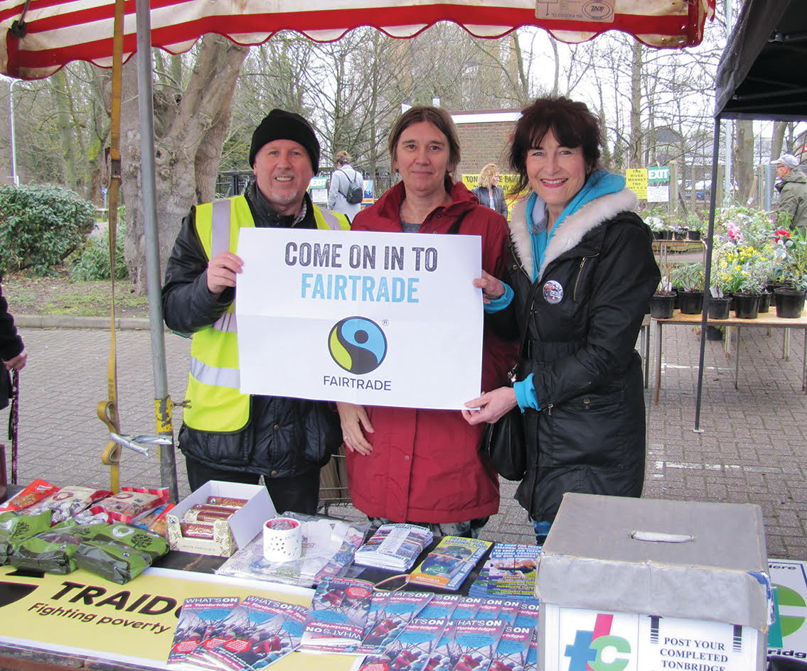 Tonbridge council gives�green light for�bid to become Fairtrade town
